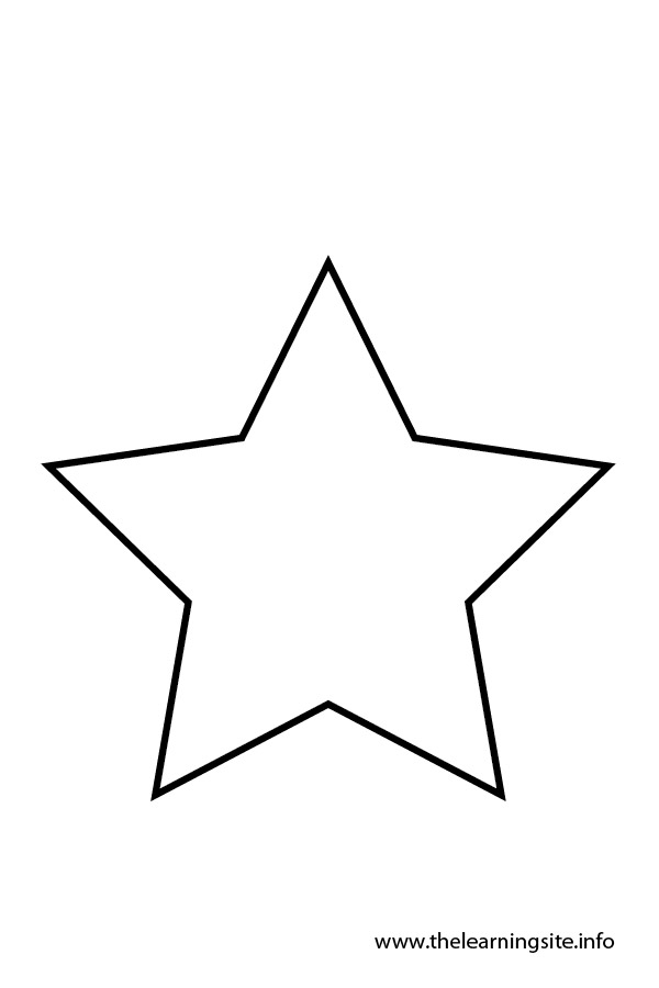 star outline coloring page five pointstartemplate star coloring pages flag outline page star coloring