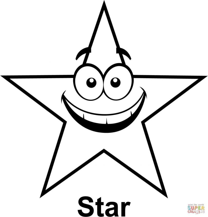 star outline coloring page star outline printable coloring home page coloring outline star 1 1