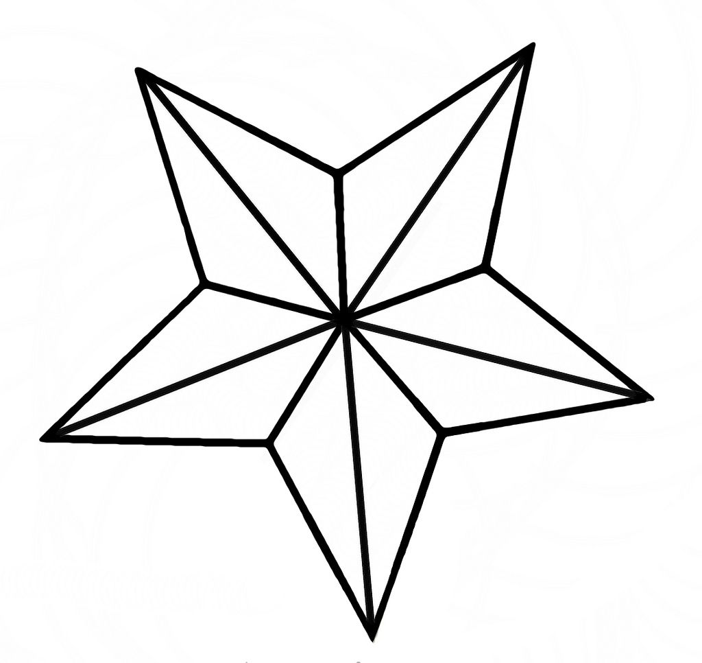 star outline coloring page yellow star flashcard the learning site star outline coloring page