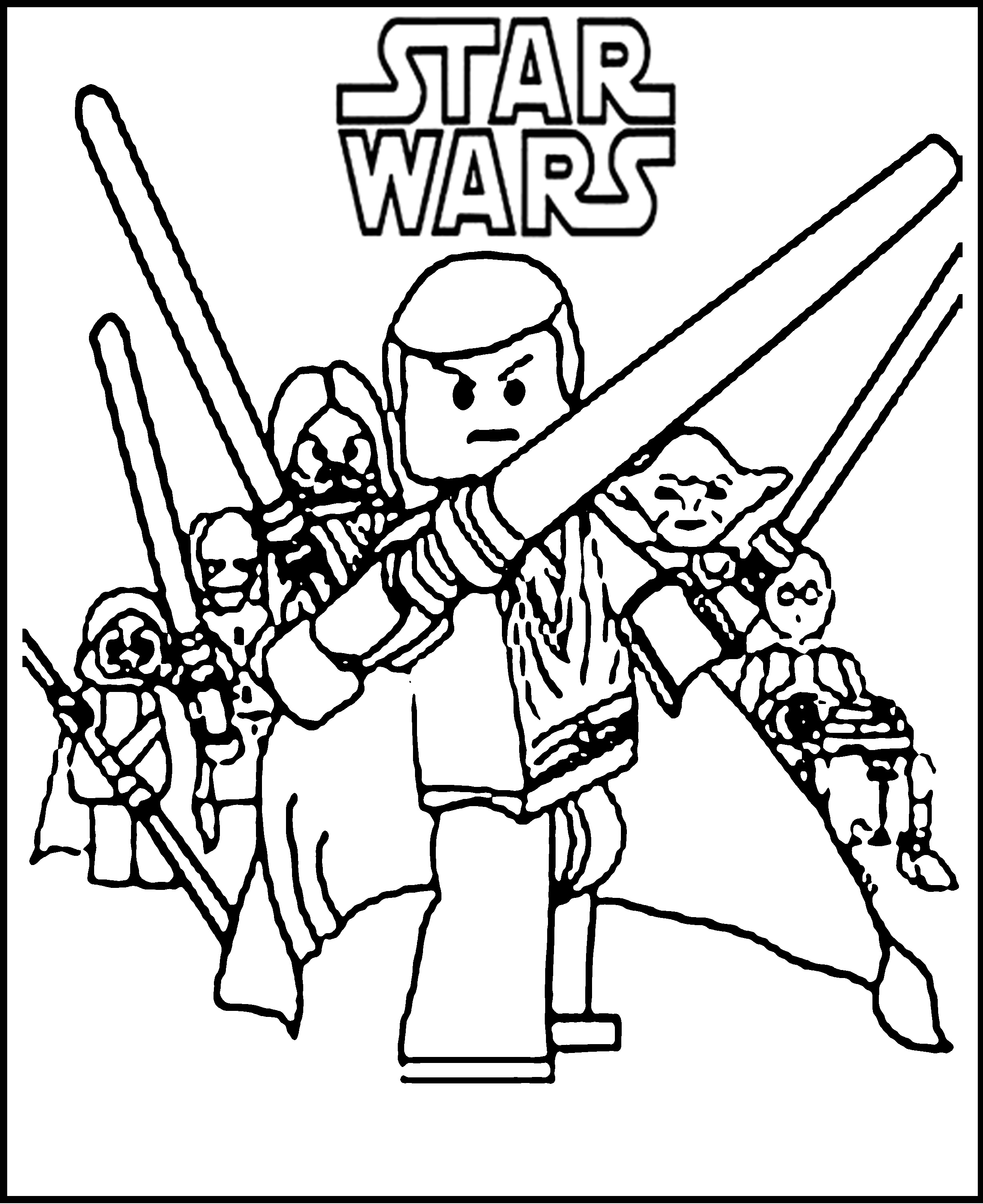 star wars coloring page 8 free star wars the force awakens coloring sheets coloring wars star page