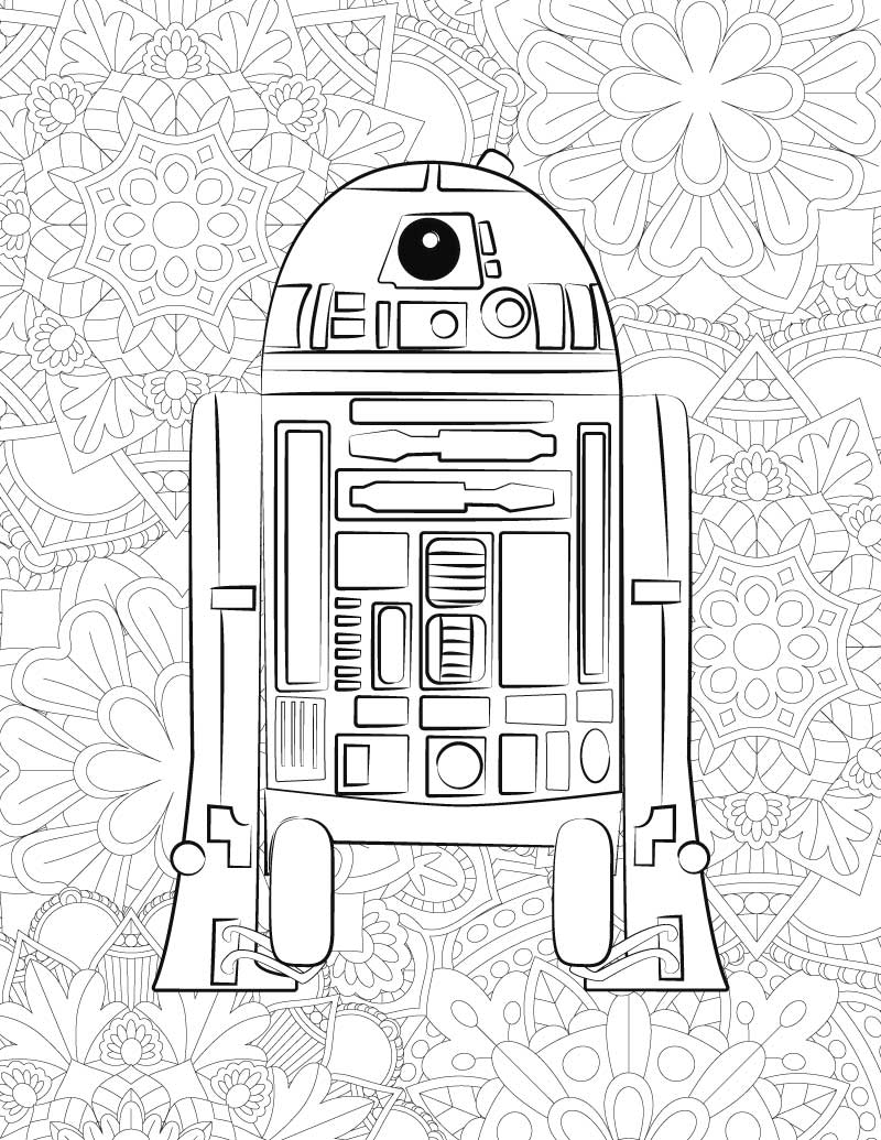 star wars coloring pages printable star wars the force awakens bb 8 coloring pages free pages wars star printable coloring
