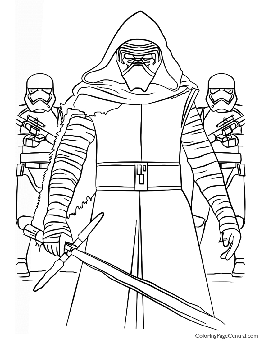 star wars coloring pages to print star wars kylo ren and first order coloring page pages print wars coloring to star