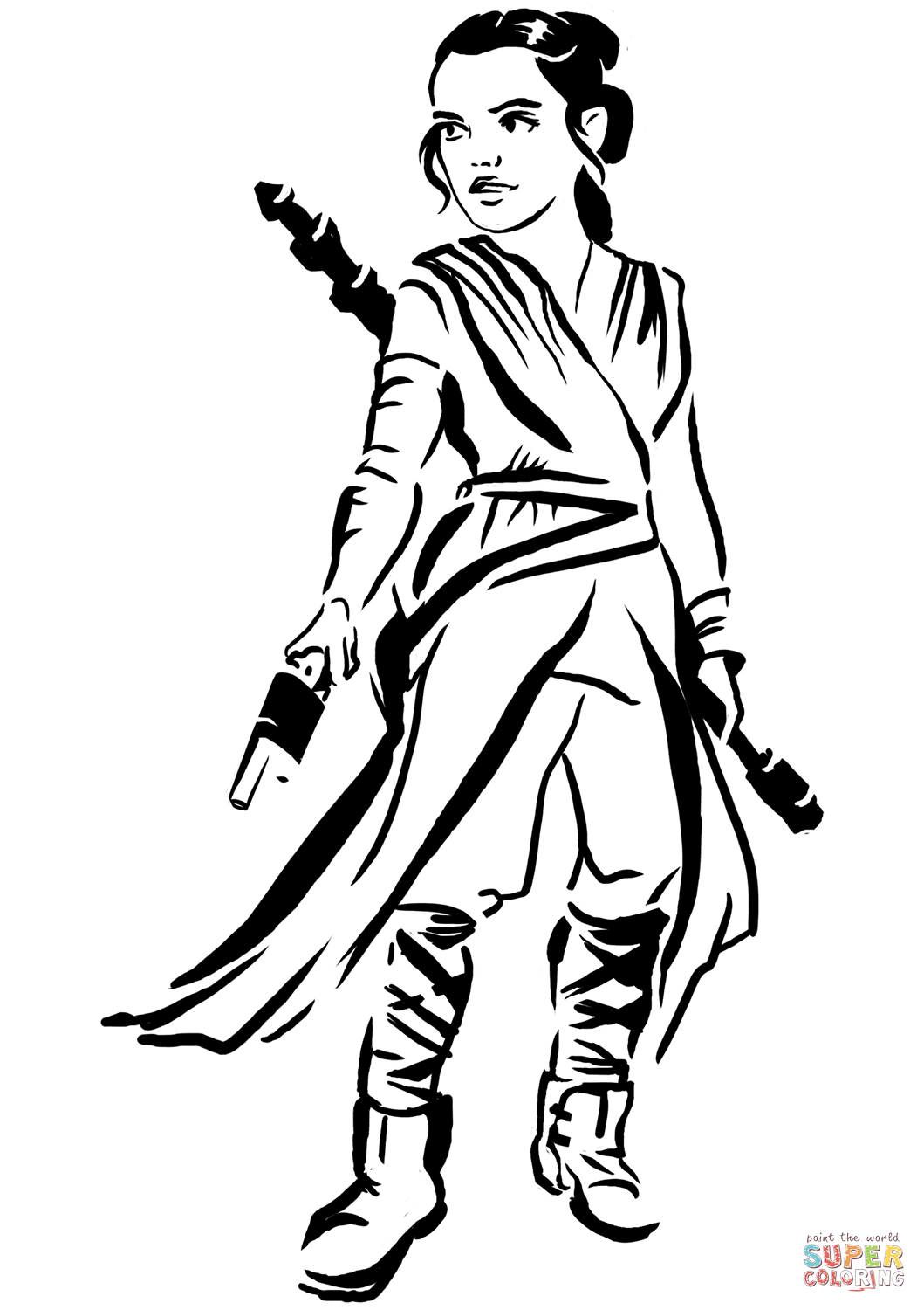 star wars rey coloring pages rey coloring page free printable coloring pages pages rey wars coloring star