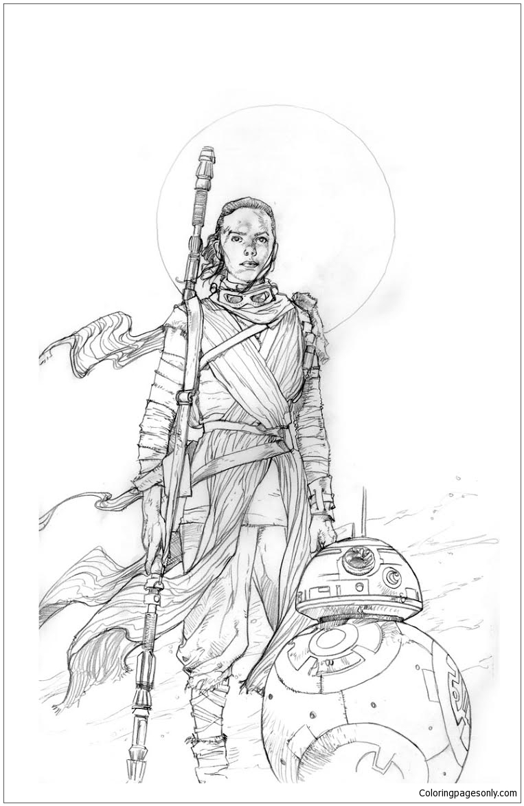 star wars rey coloring pages rey star wars 1 coloring page free coloring pages online wars coloring rey star pages
