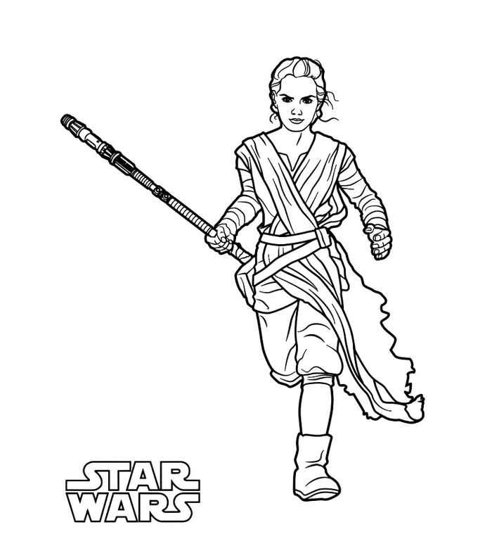 star wars rey coloring pages star wars coloring page rey the force awakens wars pages rey star coloring