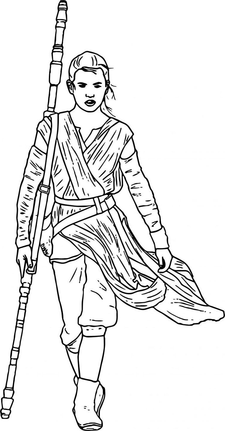 star wars rey coloring pages star wars coloring pages rey star wars colors coloring rey wars coloring pages star