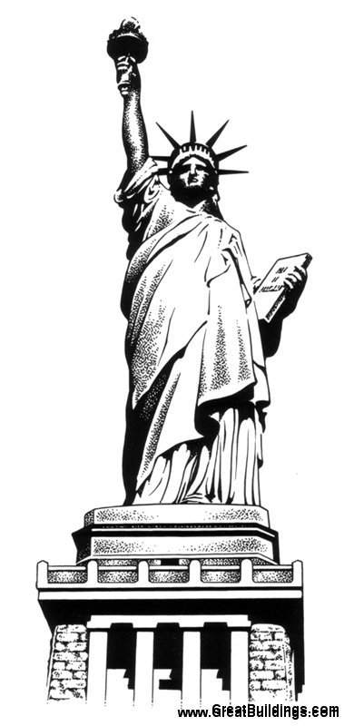 statue of liberty drawings how to draw the statue of liberty really easy drawing liberty statue drawings of