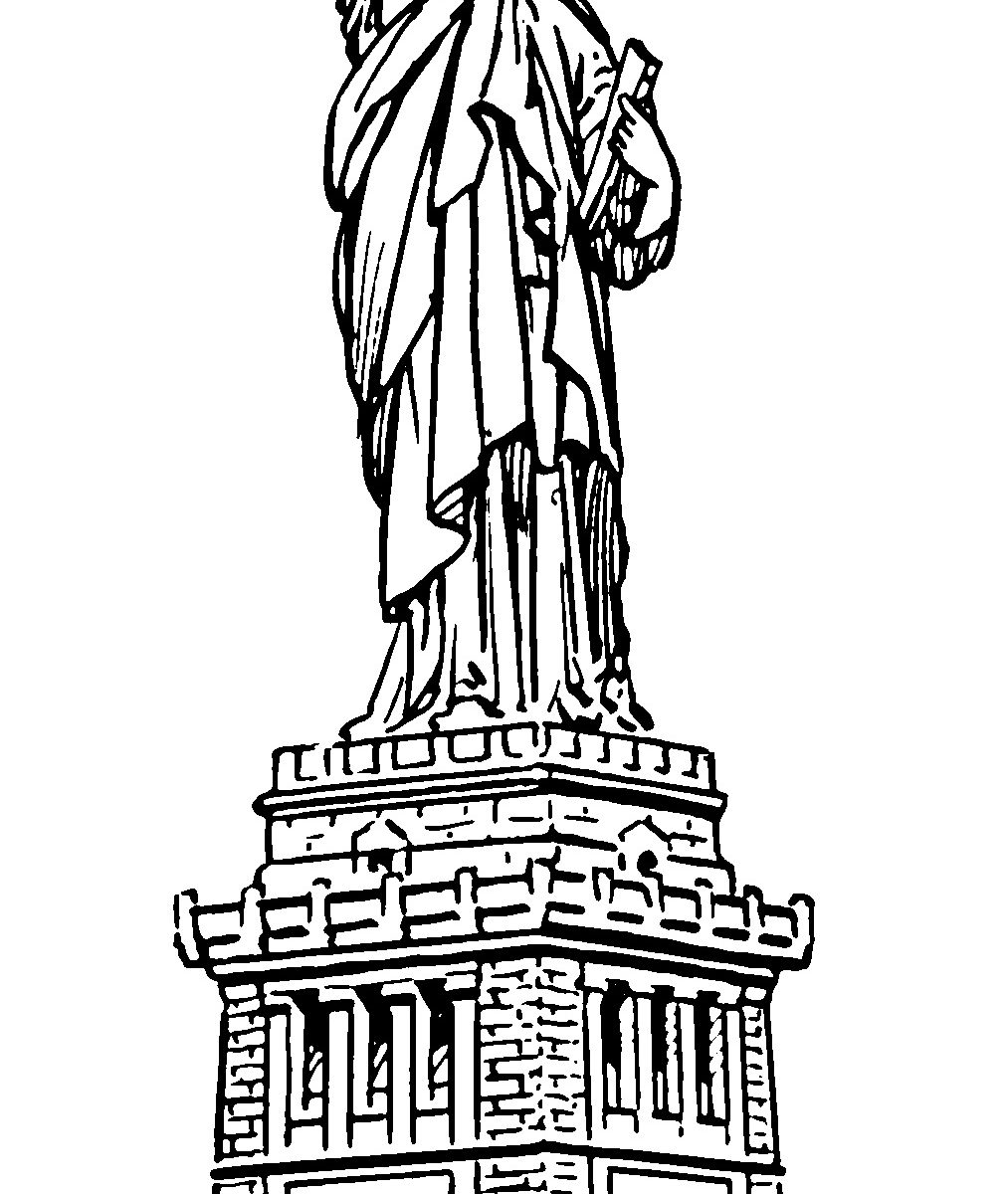 statue of liberty drawings liberty statue drawing at getdrawings free download liberty drawings statue of