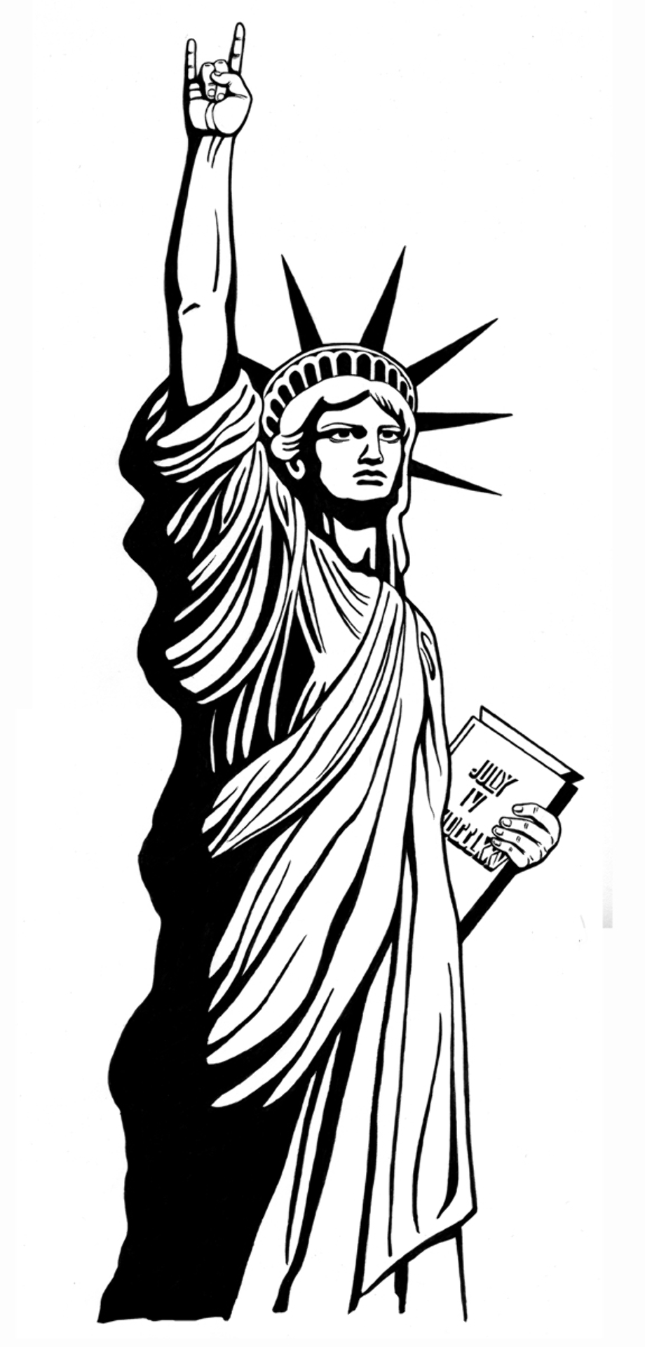 statue of liberty outline download high quality statue of liberty clipart template liberty of outline statue