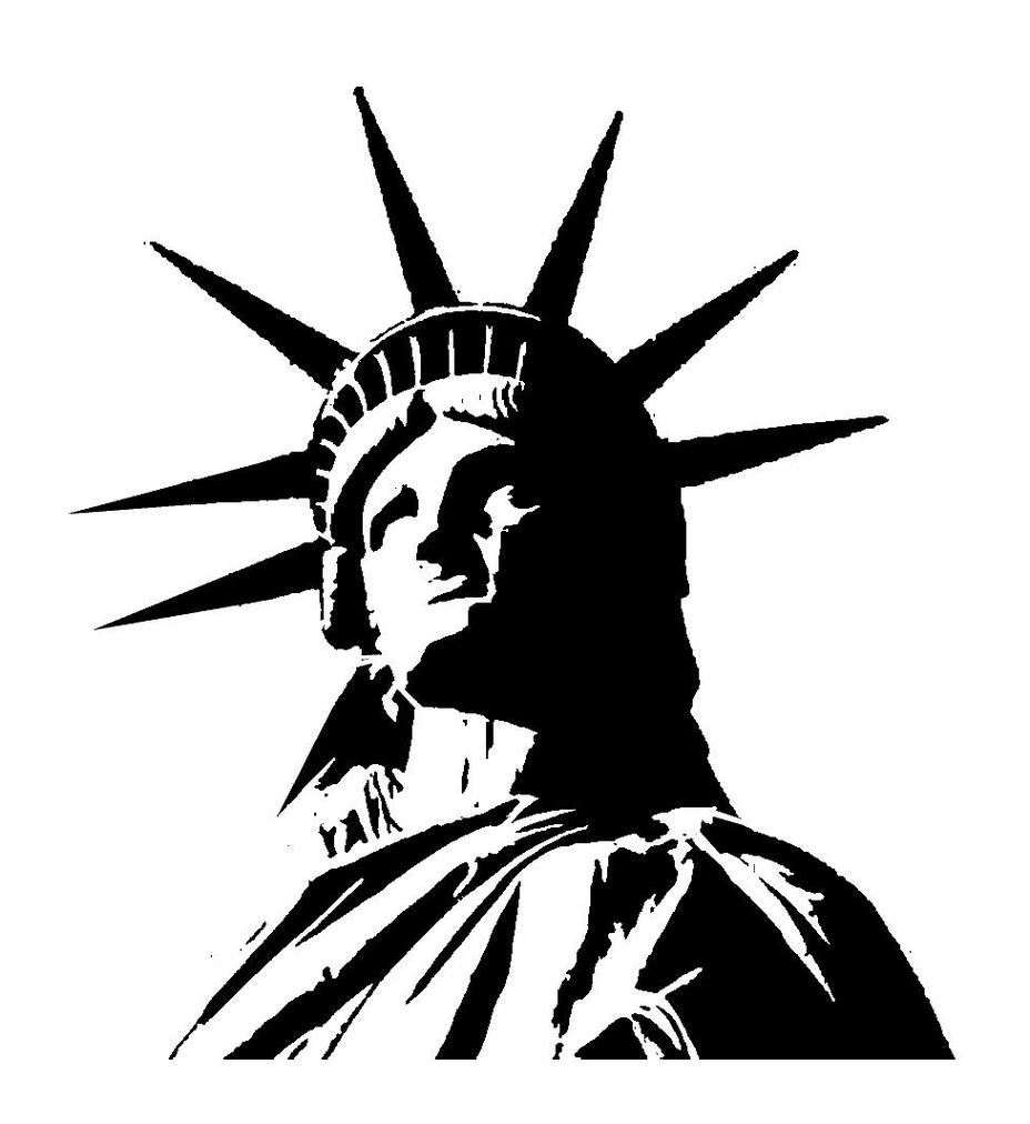 statue of liberty outline statue of liberty drawing outline at getdrawings free statue liberty of outline