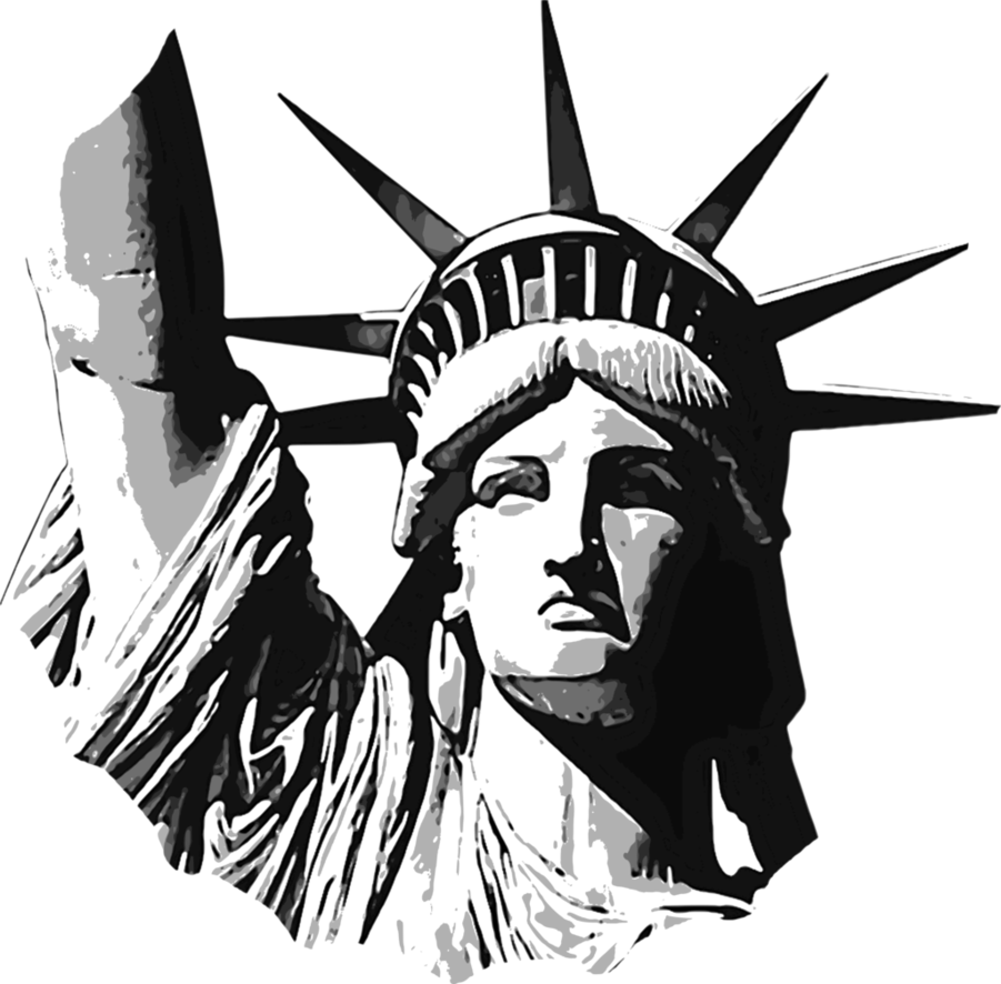 statue of liberty sketch clipart statue of liberty line art sketch liberty statue of