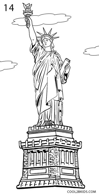 statue of liberty sketch statue of liberty black and white drawing at sketch statue liberty of