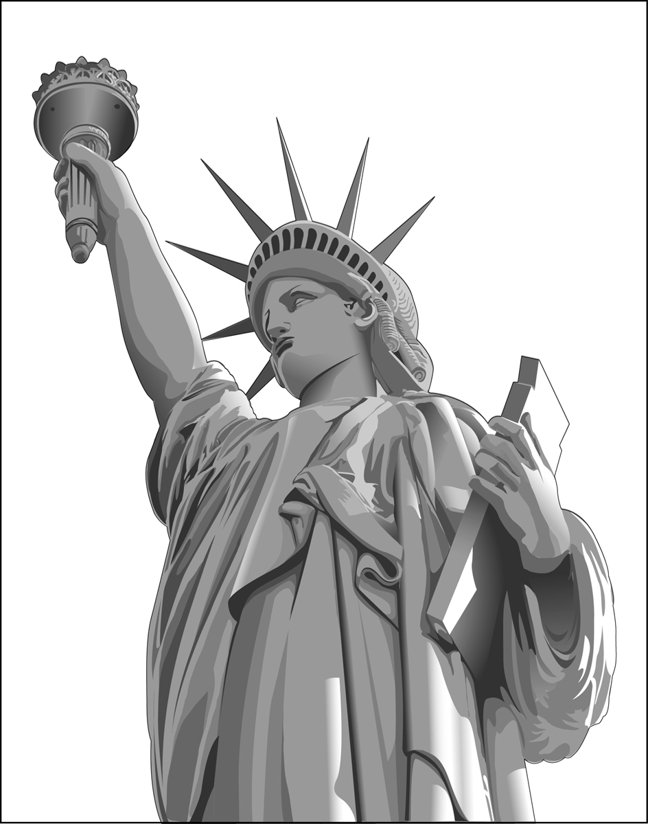 statue of liberty vector statue of liberty illustrations royalty free vector of statue liberty vector