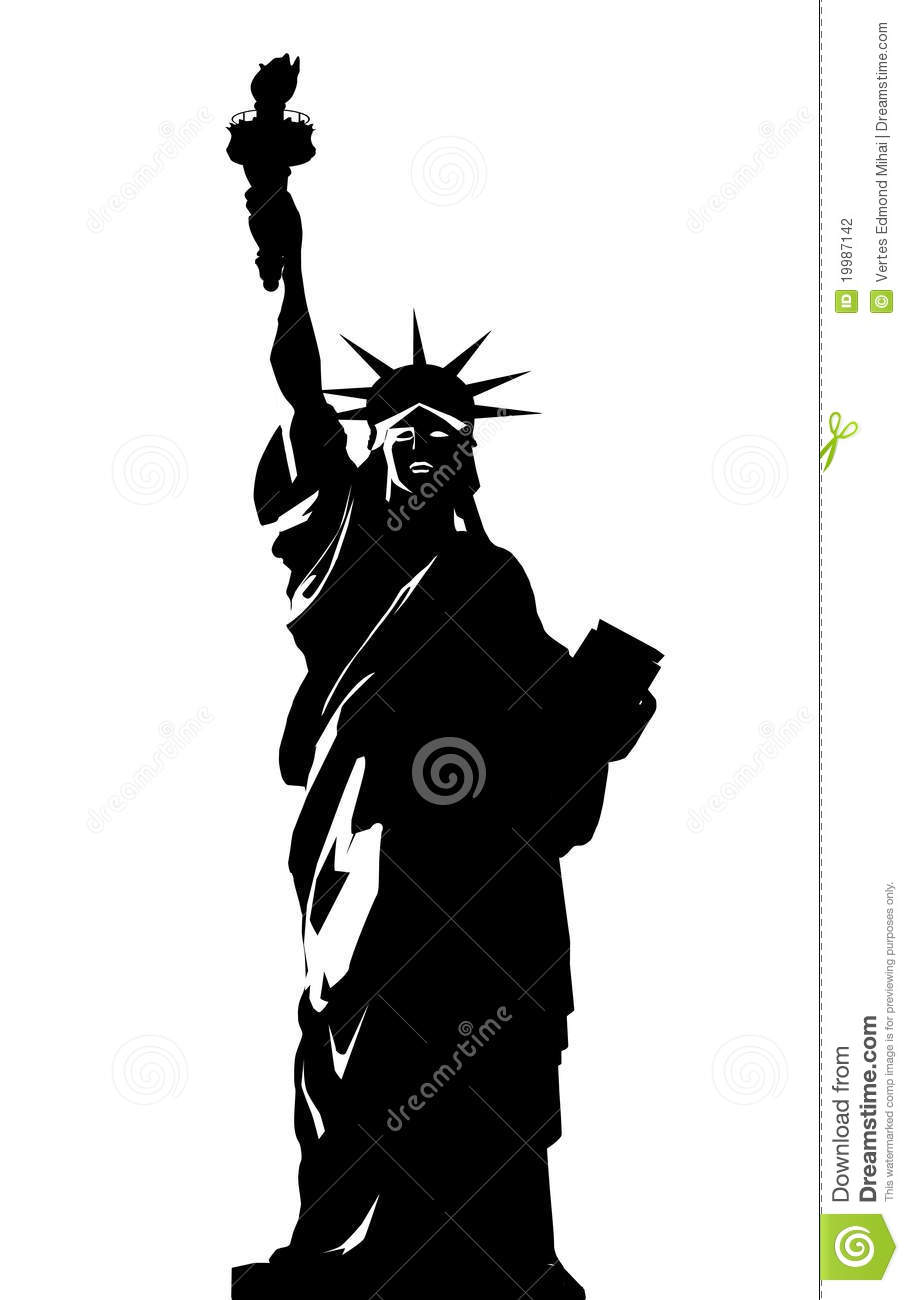 statue of liberty vector statue of liberty vector illustration eps uidownload statue liberty vector of