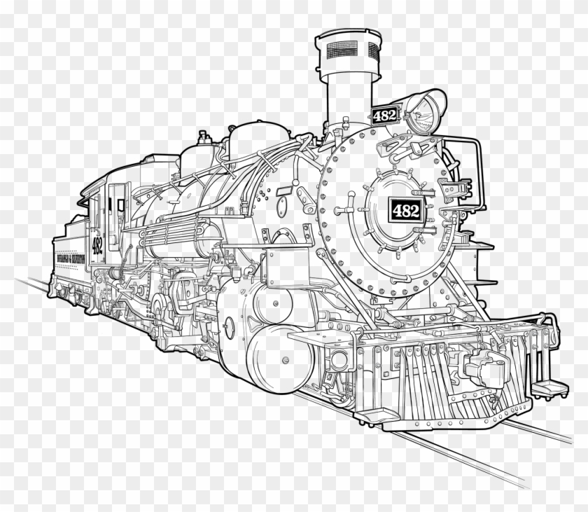 steam engine drawing how to draw a train drawing steam train transparent engine steam drawing