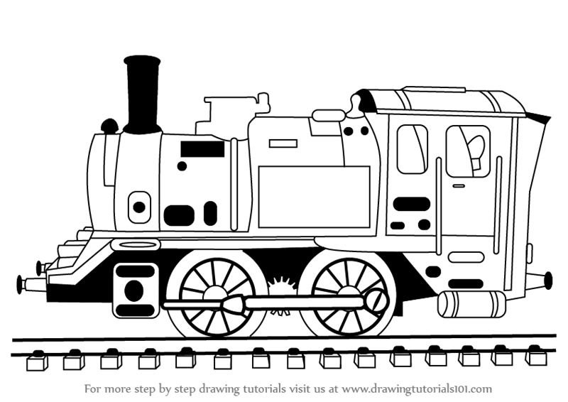 steam engine drawing learn how to draw locomotive steam engine trains step by engine drawing steam