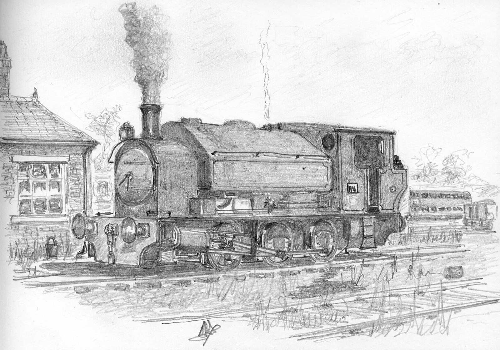 steam engine drawing quotsteam locomotive black and white pen ink drawingquot poster drawing steam engine