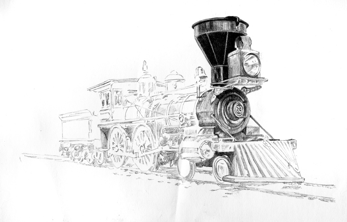 steam engine drawing steam traction engine original graphite pencil drawing drawing steam engine