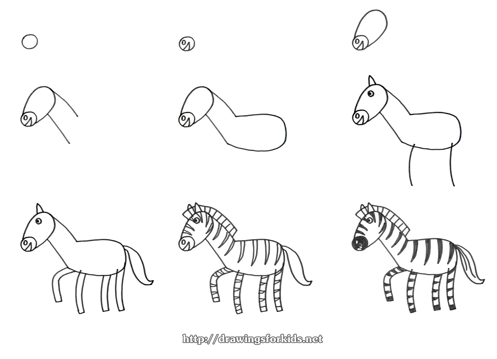 step by step how to draw a zebra how to draw a zebra to a how draw by step zebra step