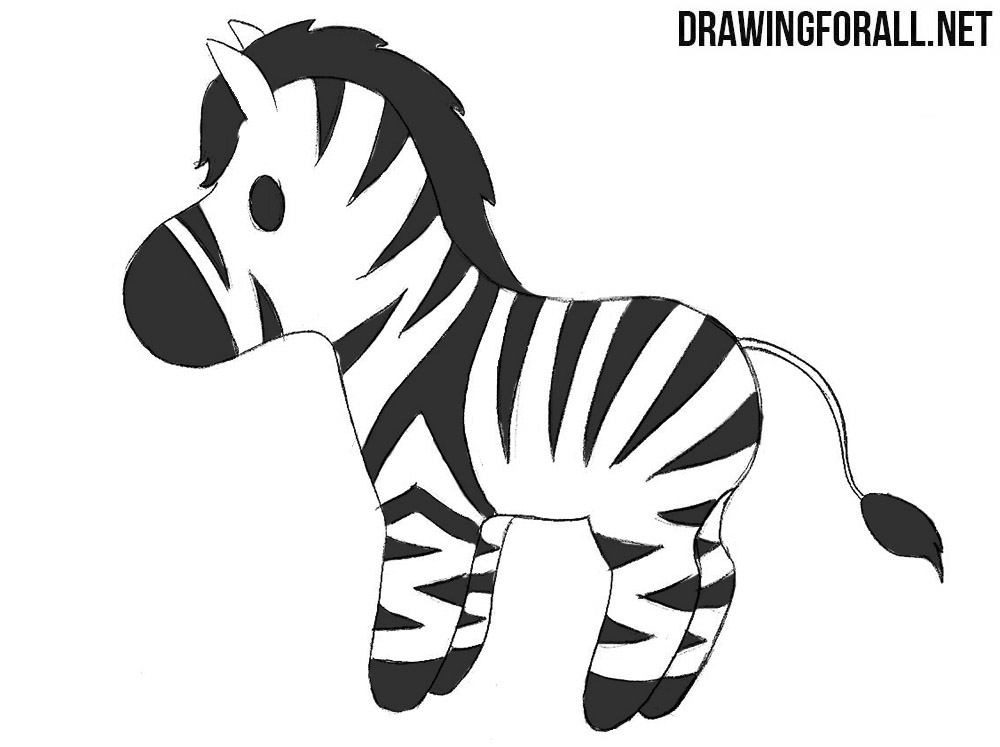 step by step how to draw a zebra learn how to draw a zebra zoo animals step by step draw how zebra to step step by a