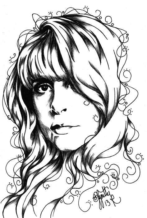 stevie nicks coloring pages 10 images about stevie nicks board on pinterest nicks stevie pages coloring