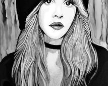 stevie nicks coloring pages channeling my inner stevie nicks shirt teeprobigcom nicks stevie coloring pages