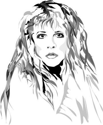 stevie nicks coloring pages stevie nicks caricature love it check this amazing coloring nicks pages stevie