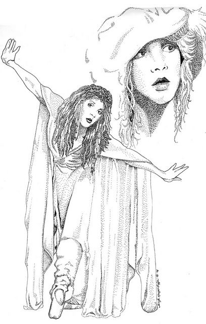 stevie nicks coloring pages the art of lynette k the changing times of stevie nicks stevie pages nicks coloring