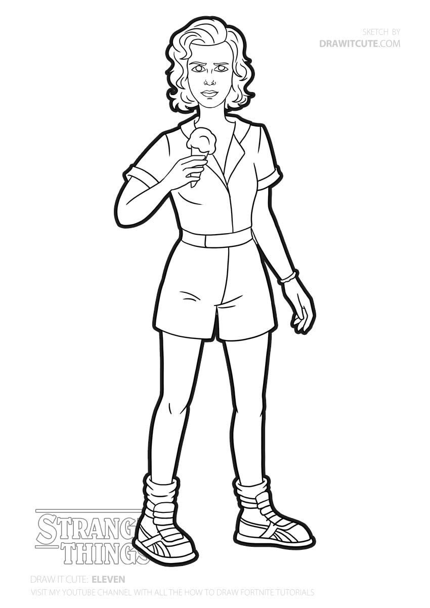 stranger things 3 coloring sheet coloriage lequel choisir choix choisir coloriage stranger sheet things coloring 3