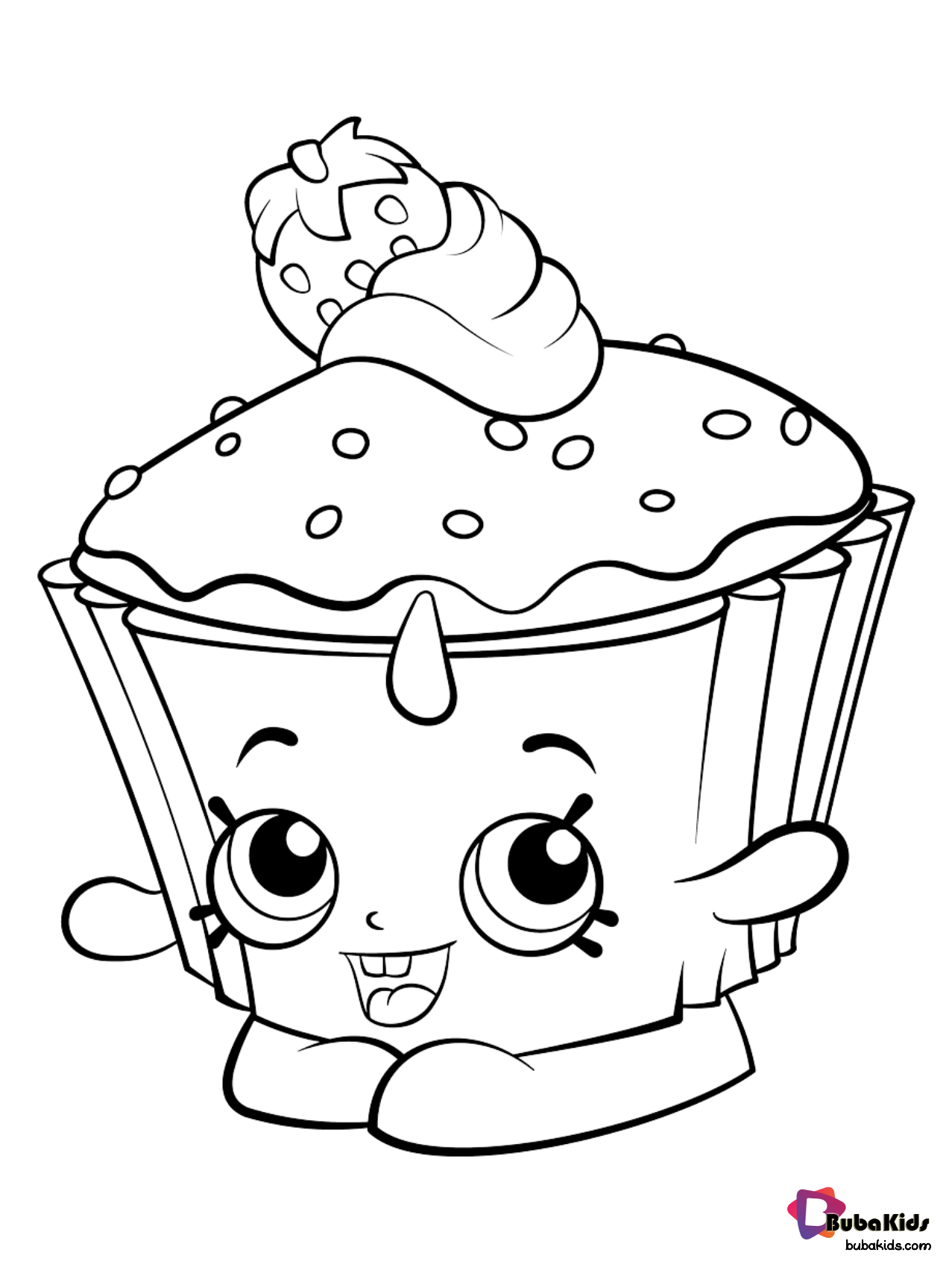 strawberry cake coloring pages cake clipart coloring pages and other free printable coloring cake strawberry pages