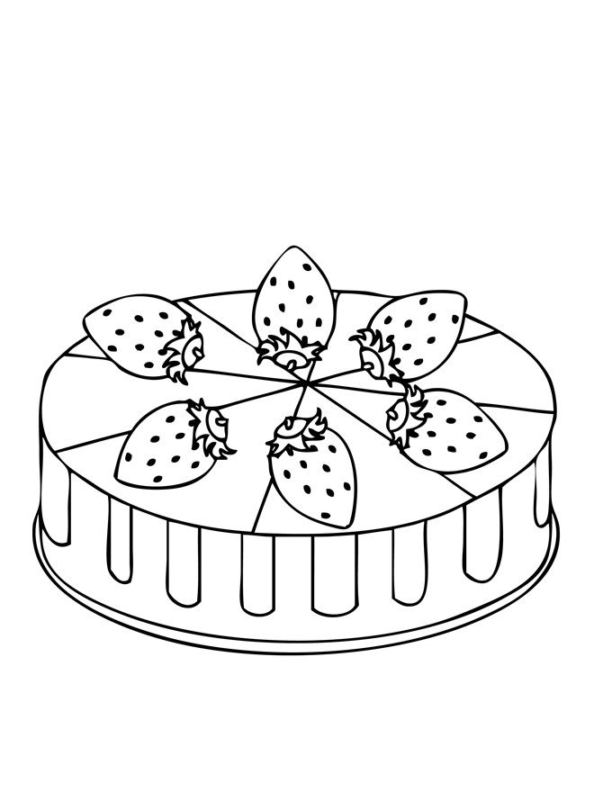 strawberry cake coloring pages free download strawberry cup cake coloring page for coloring cake pages strawberry