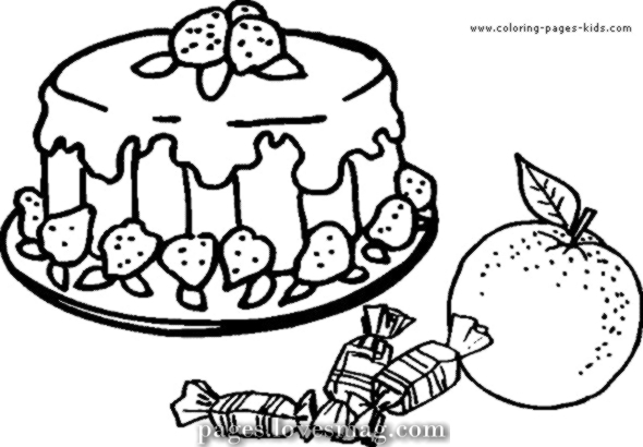 strawberry cake coloring pages free easy to print cake coloring pages tulamama strawberry pages cake coloring