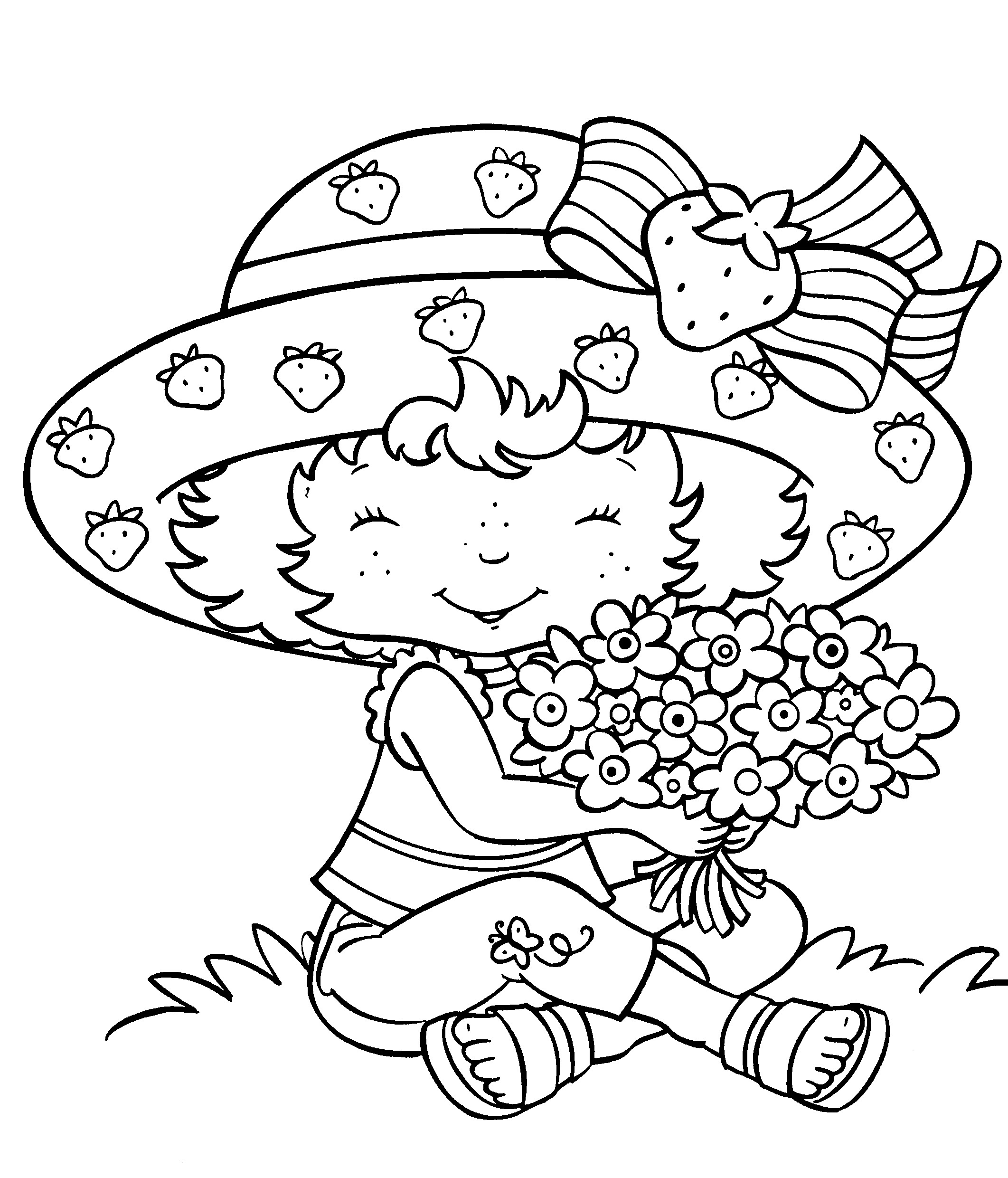 strawberry cake coloring pages strawberry cake with birthday candle coloring pages strawberry coloring pages cake