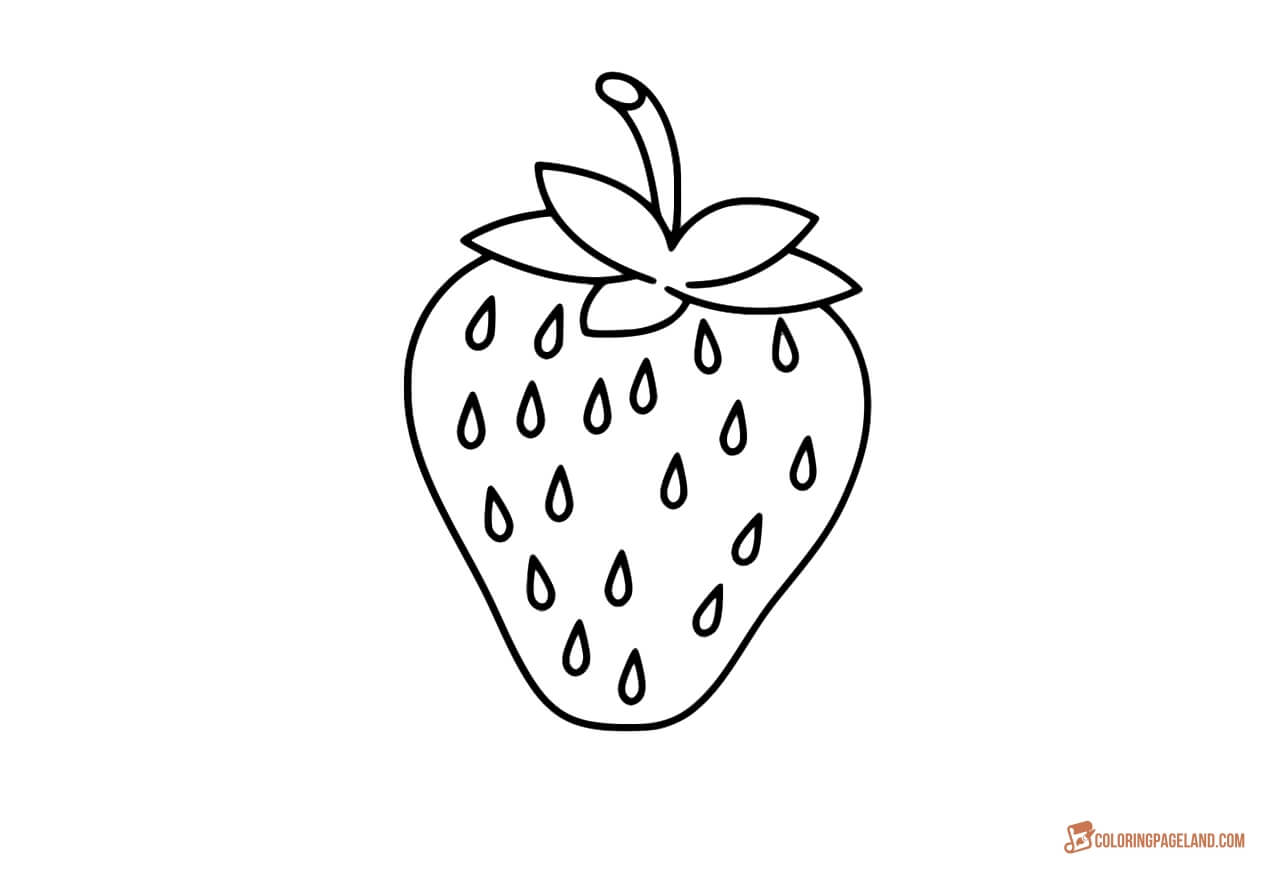strawberry coloring image strawberry coloring pages download and print strawberry strawberry coloring image