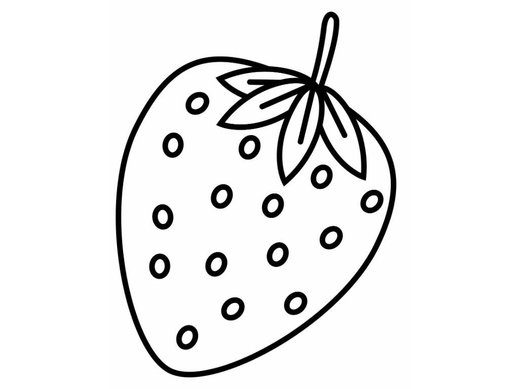 strawberry coloring image strawberry coloring pages image strawberry coloring