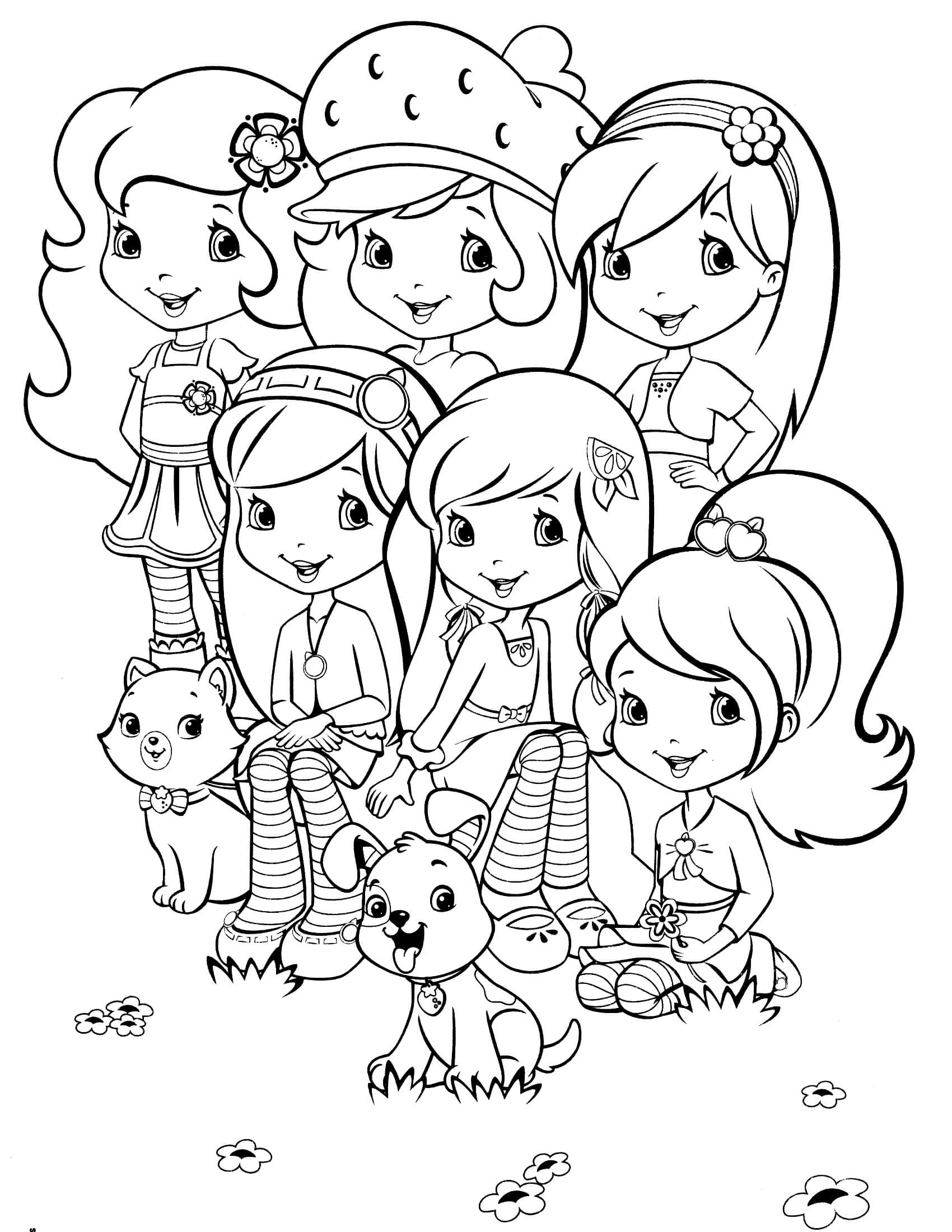 strawberry shortcake drawing pages get this cute strawberry shortcake coloring pages to print pages shortcake drawing strawberry
