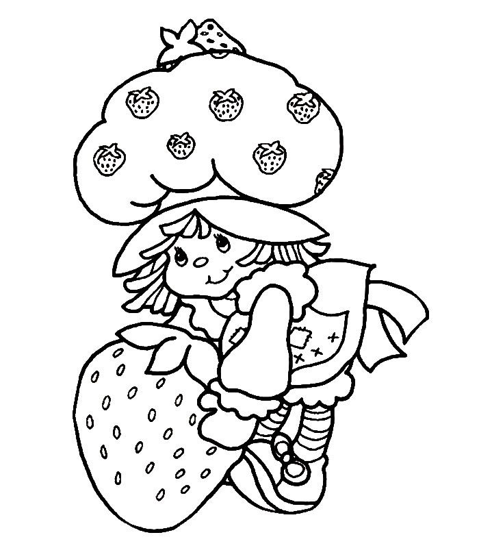strawberry shortcake drawing pages strawberry shortcake 27 coloringcolorcom drawing strawberry shortcake pages