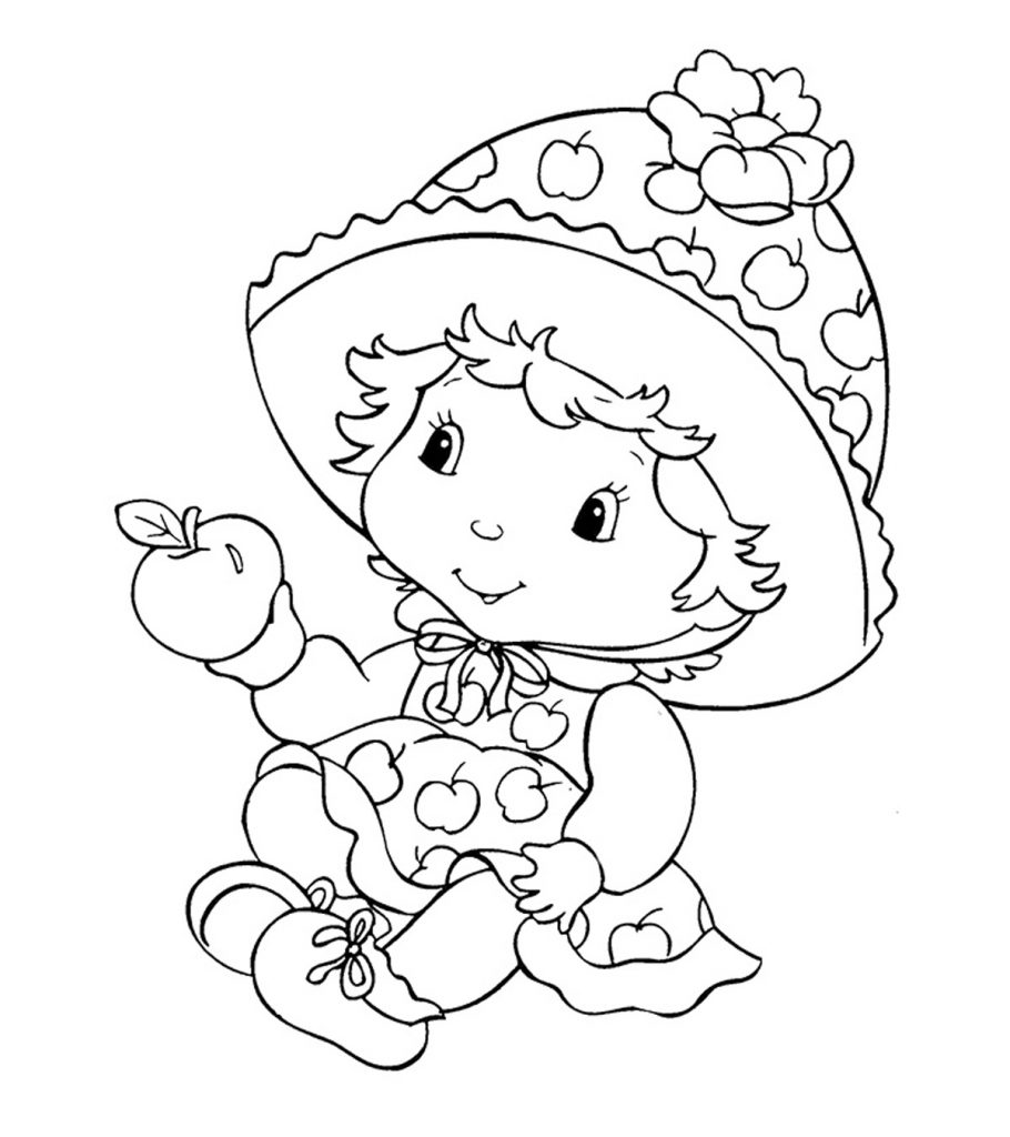 strawberry shortcake drawing pages strawberry shortcake 70 coloringcolorcom shortcake pages strawberry drawing