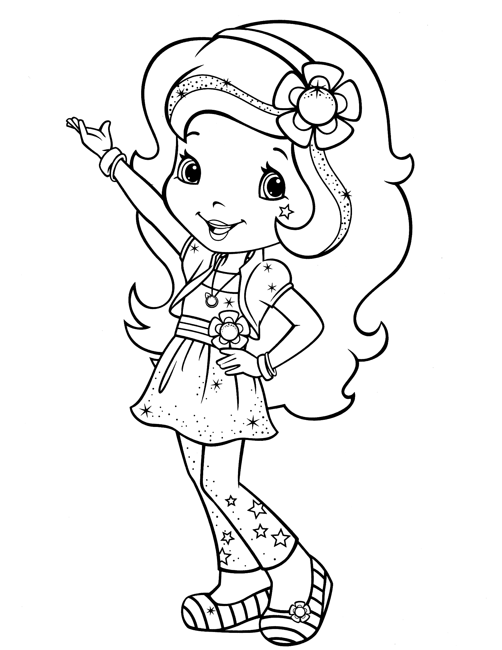 strawberry shortcake drawing pages strawberry shortcake coloring pages line drawing free drawing strawberry shortcake pages