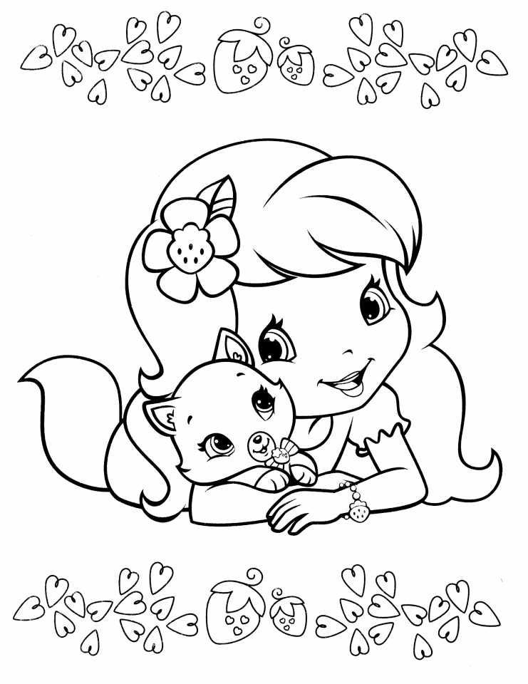 strawberry shortcake pictures to color get this strawberry shortcake coloring pages online 29620 color strawberry to pictures shortcake