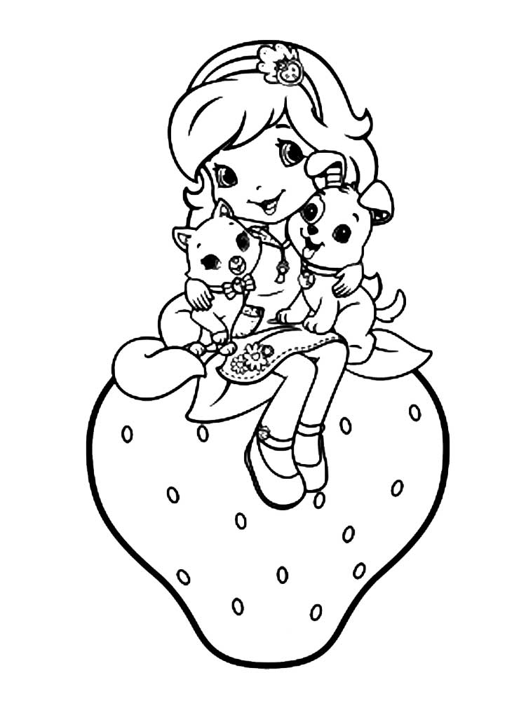 strawberry shortcake pictures to color strawberry shortcake coloring pages free printable strawberry shortcake to color pictures