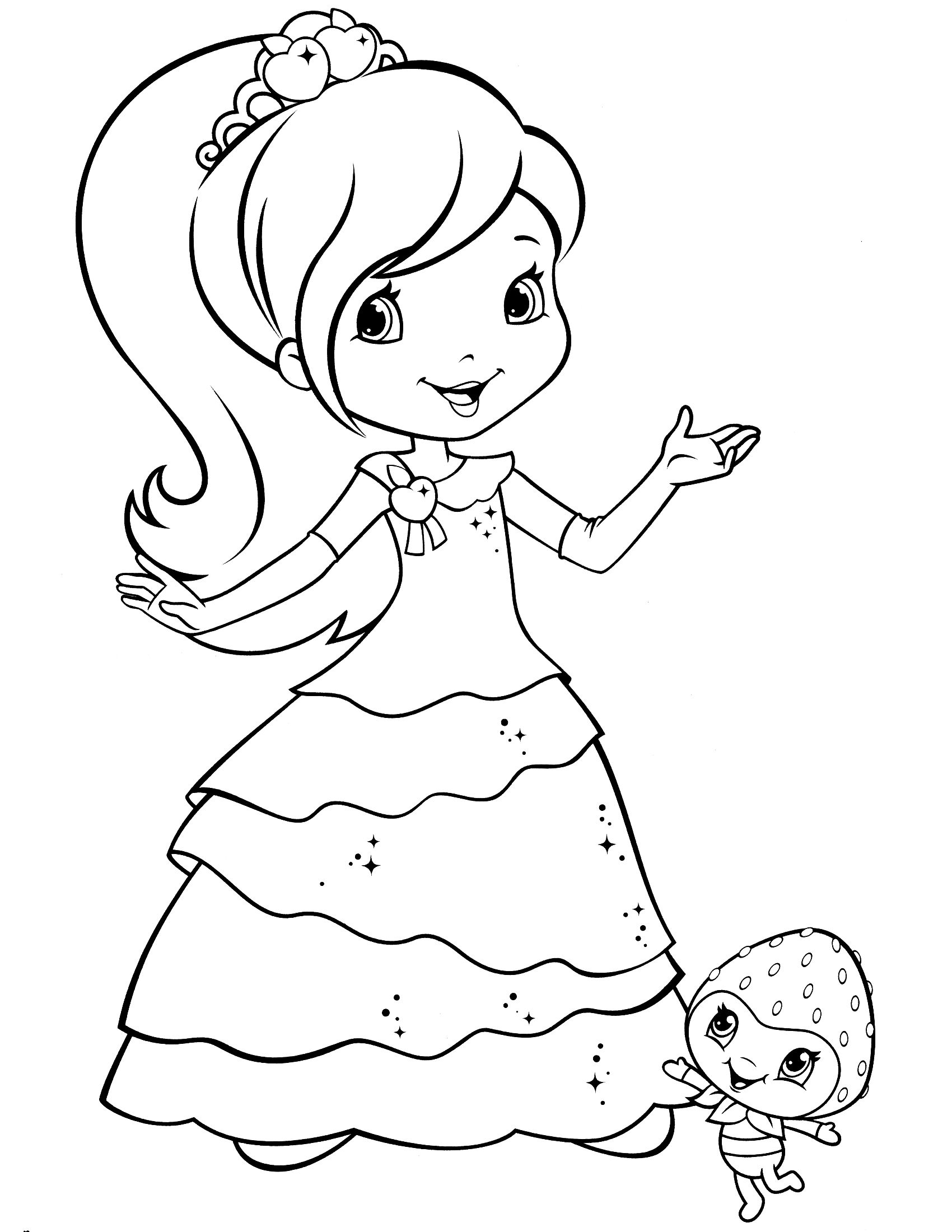strawberry shortcake princess coloring pages pinterest the worlds catalog of ideas coloring princess shortcake pages strawberry