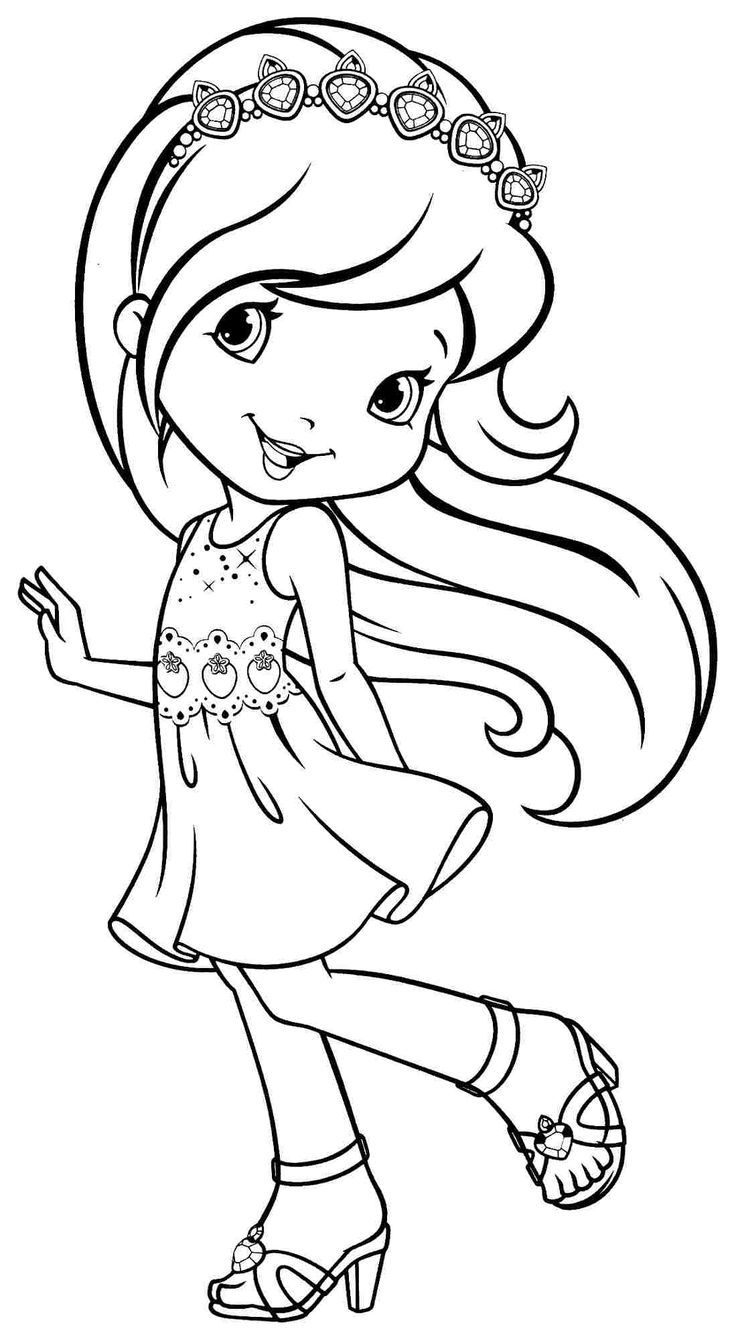 strawberry shortcake princess coloring pages strawberry shortcake coloring page dibujos dibujos de shortcake pages coloring strawberry princess