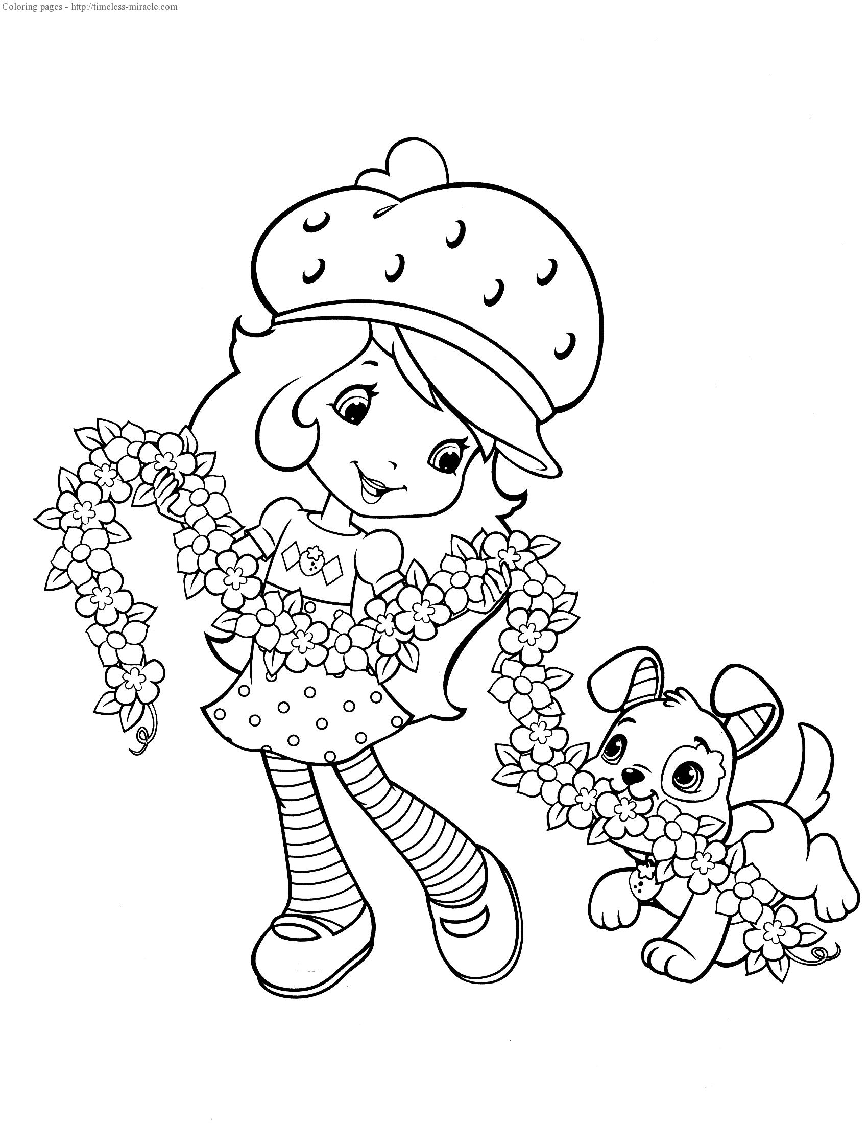 strawberry shortcake princess coloring pages strawberry shortcake coloring page dibujos dibujos para coloring shortcake pages strawberry princess