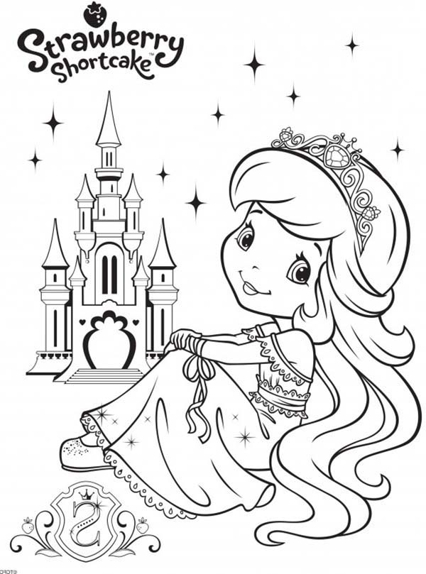 strawberry shortcake princess coloring pages strawberry shortcake coloring page strawberry shortcake pages princess coloring shortcake strawberry