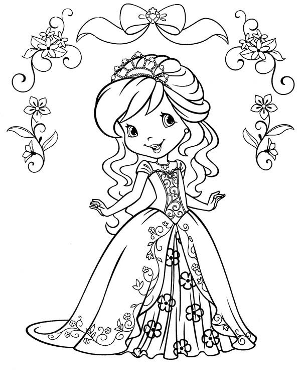 strawberry shortcake princess coloring pages strawberry shortcake princess coloring pages at strawberry shortcake coloring princess pages