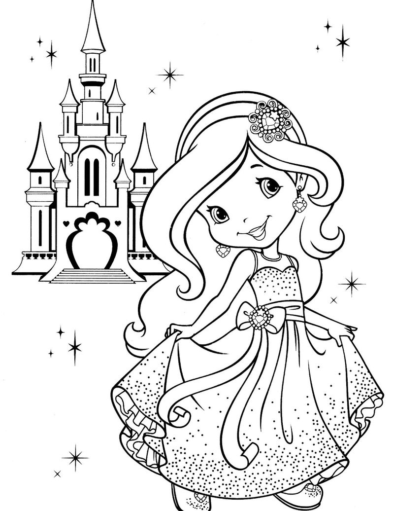 strawberry shortcake princess coloring pages strawberry shortcake princess coloring pages photo 6 shortcake princess pages coloring strawberry