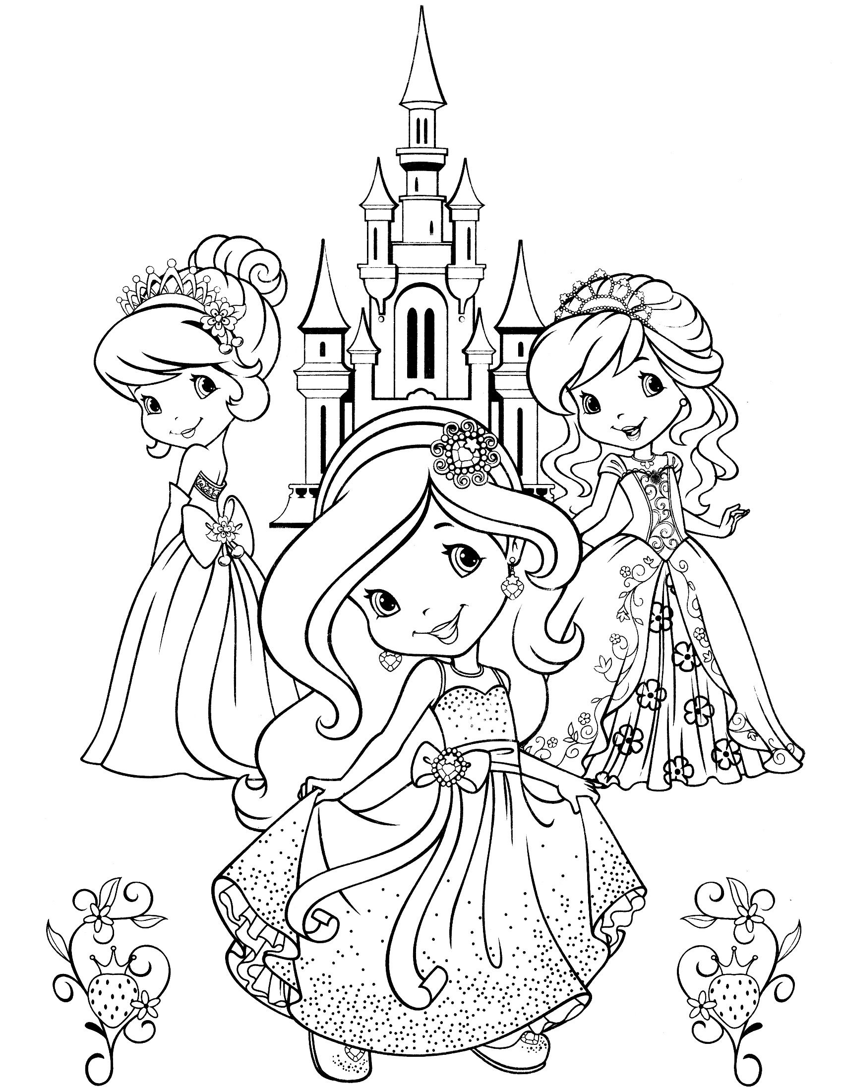 strawberry shortcake princess coloring pages strawberry shortcake princess coloring pages timeless shortcake coloring strawberry princess pages
