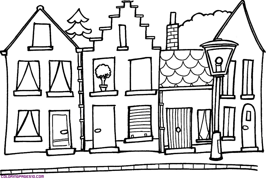 street coloring pages city main street coloring page coloring sun street coloring pages