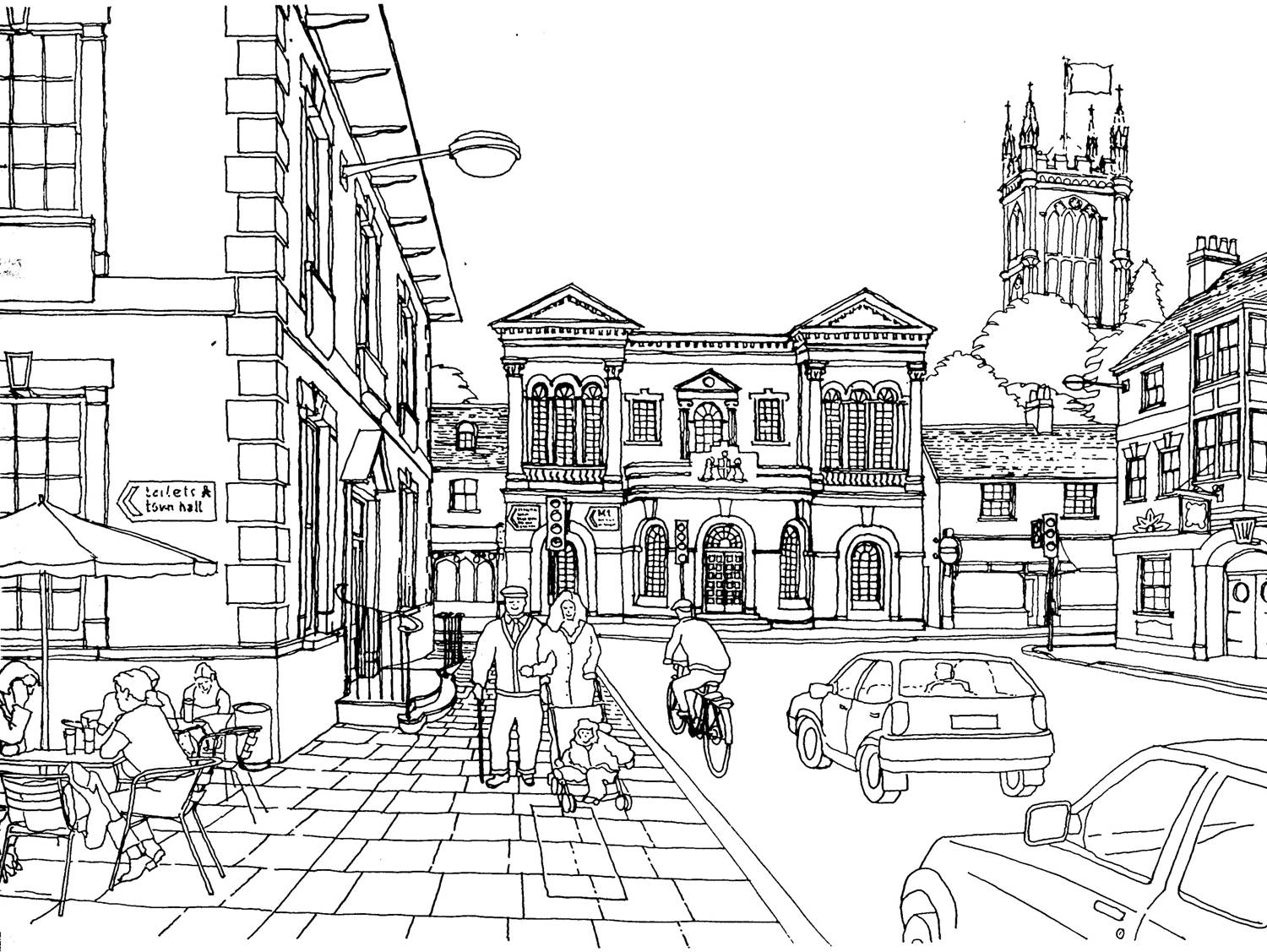 street coloring pages city street coloring page coloring street pages
